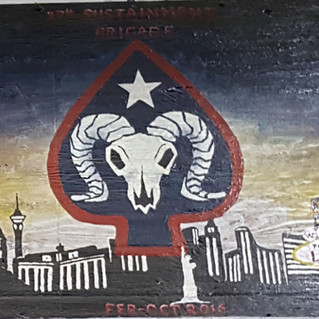27th Sustainment Brigade Mural