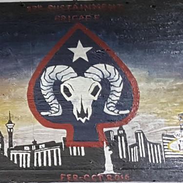 27th Sustainment Brigade Mural