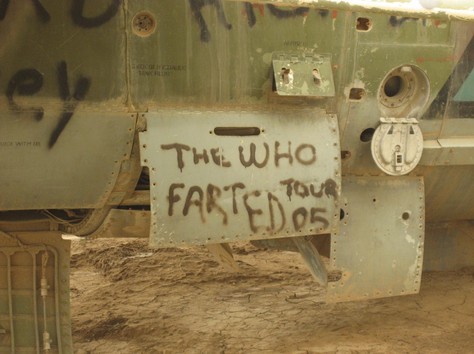 FOB-Hopping in Iraq who farted.JPG