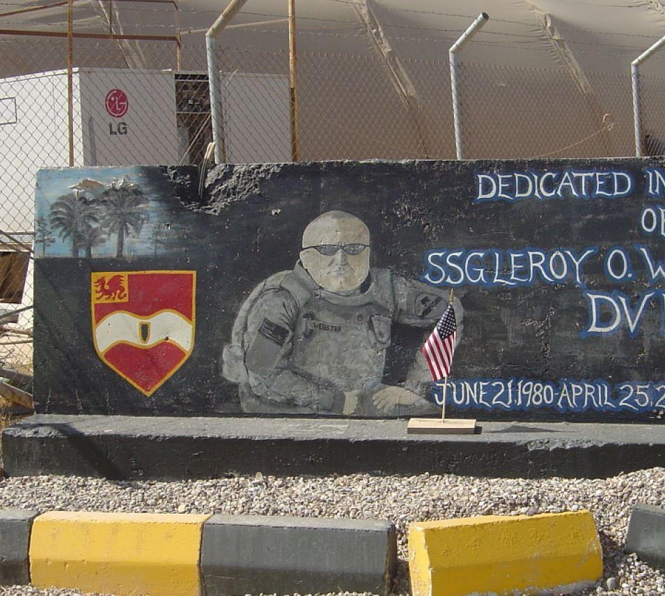 SSG Leroy Webster Memorial