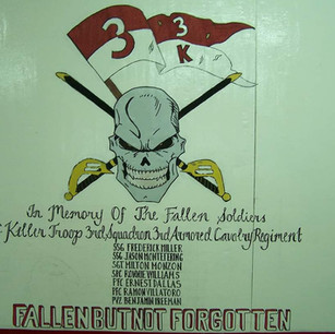 Killer Troop 3rd Squadron 3rd Armored Calvalry Regiment