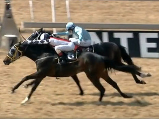 Whafeef gets the stable off the mark!