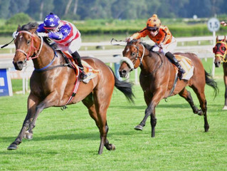 GRAND HERITAGE won in style!