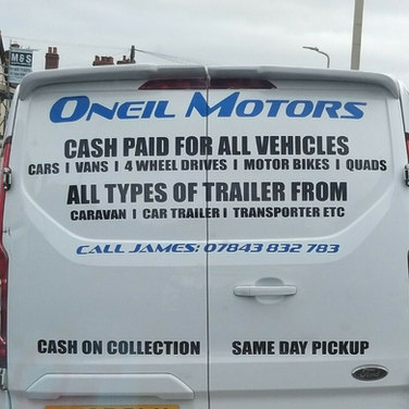 Oneil Motors Sign