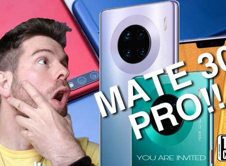 Huawei Presento el Mate 30 y Mate 30 Pro sin Google con características alucinantes.