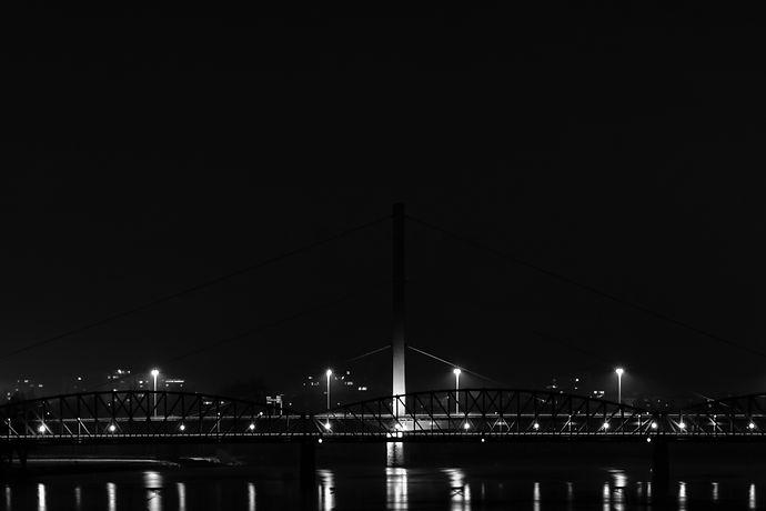 Voestbrücke, Linz, Donau