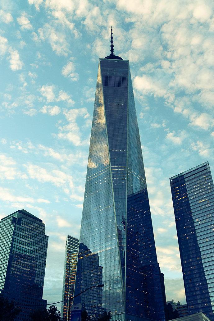 New York, City, Photowalk, WTC, one world center, world trade center, clouds, sun set
