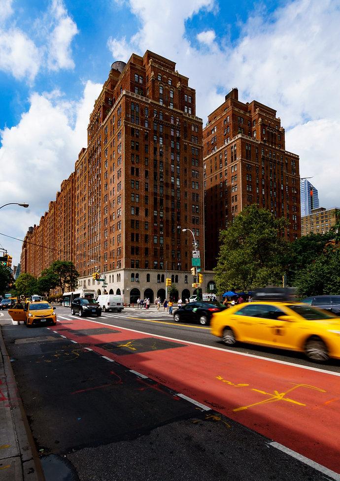 New York, City, Taxi, 23rd street, streetlife