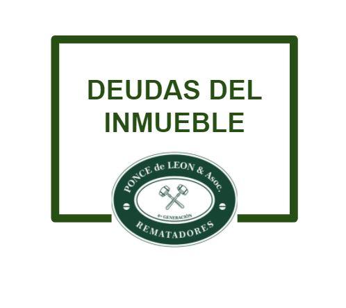 DEUDAS DEL INMUEBLE