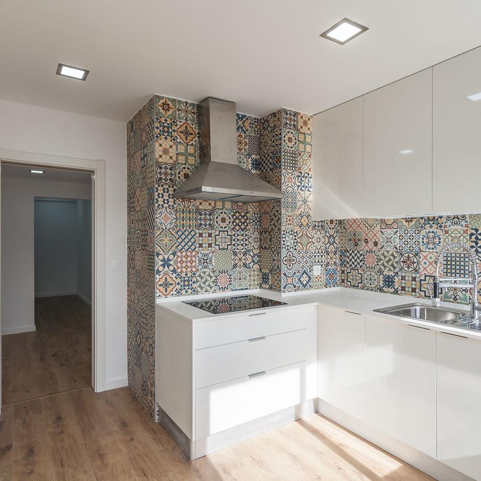 Cozinha Apartamento Carnaxide