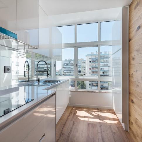 Cozinha Apartamento Canaxide T2