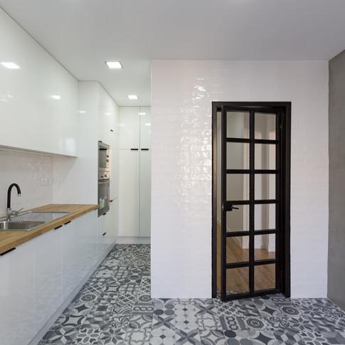 Cozinha Apartamento Campo de Ourique