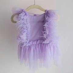 Bibs & Bows_Purple Dress (12 mos)