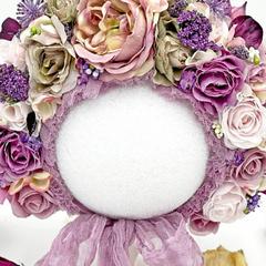 TreasuredMemoryLane_Purple Flower Bonnet