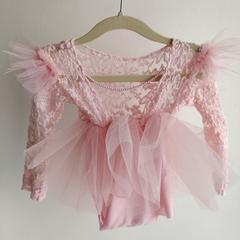 Bibs & Bows_Light Pink Sarah Dress (12 mos)