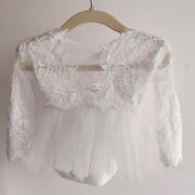 B&B_Sarah Dress in white (newborn)
