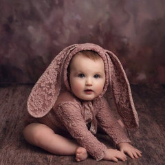 WhiteWillowProps_Mauve Lace Bunny Set (6