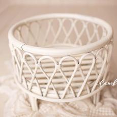 Luneberry_Cream Bamboo basket