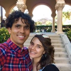 My lovely wife, Tatiana, and I