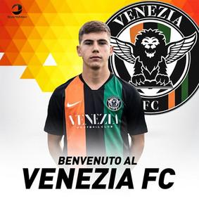 Benvenuto al Venezia FC Enrico!