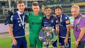 Após sair da base de Corinthians e Palmeiras, ele 'vive sonho' no Hellas Verona, da Itália