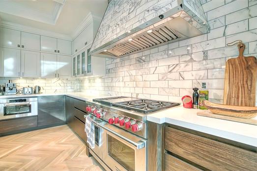 Kitchen luxury home design - Mount Royal