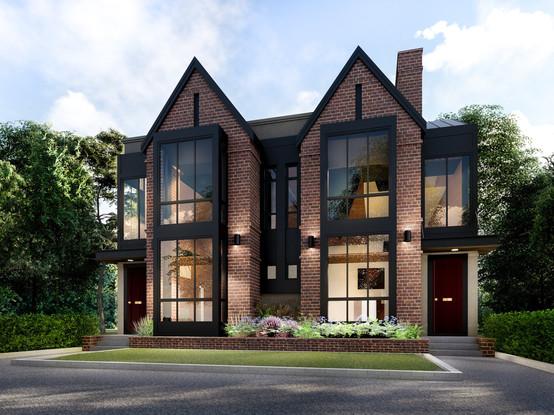 Luxury Spec Home ||  Calgary New Home Inner City Home Design