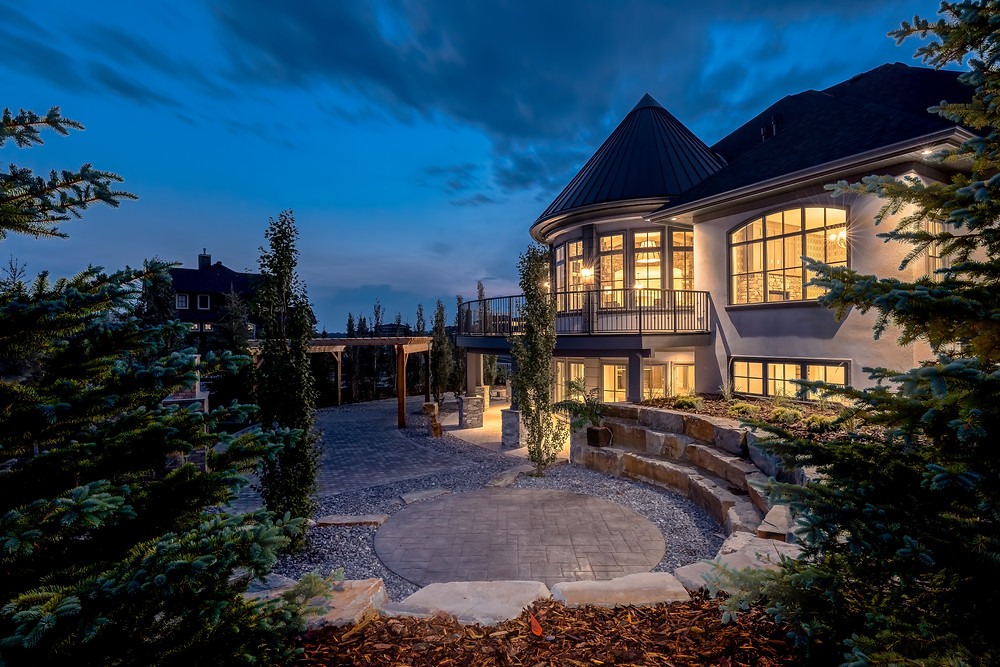 Luxury Custom Home Design Calgary in Bearspaw