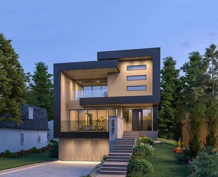 Mount Royal  ||  Modern Custom Home Design