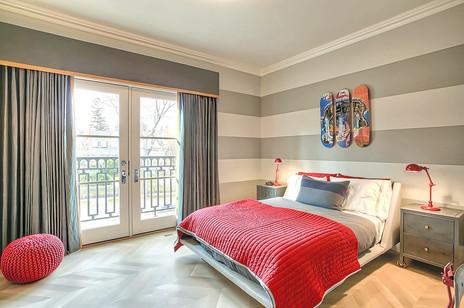 Calgary home design kids bedroom wallpap
