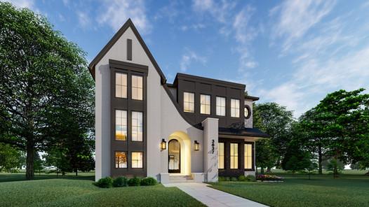 Elbow Park Modern French | Luxury Home Design