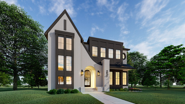 Luxury Spec Home ||  Modern French ||  Elbow Park