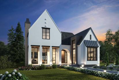 Belgian Farmhouse Home Design  ||  Urban