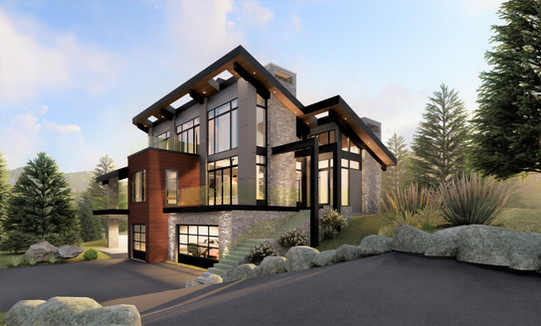 Private Residence ||  Cliffside Modern ||  Bearspaw