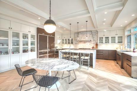 Calgary stylish kitchen design