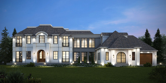 Private Residence    Luxe Acreage     Springbank