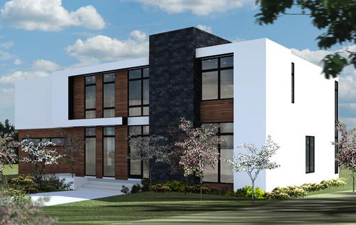 Calgary Parkdale New Custom Home Design.