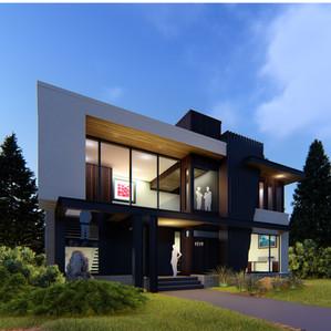 Briar Hill  ||  Modern Custom Home Design