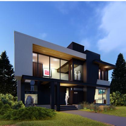 Private Residence ||  Briar Hill  ||  Modern Custom Home Design