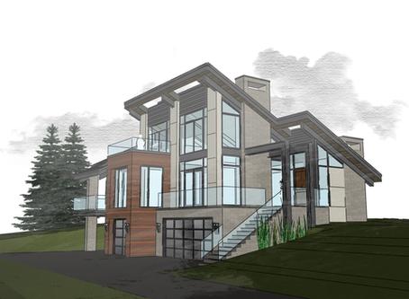 Modern Chalet Home Design | Behind The Scenes