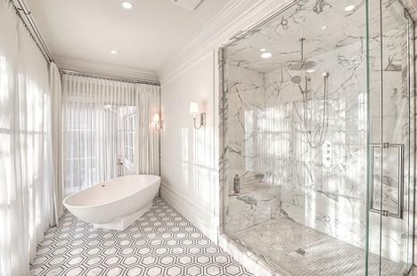 Mount Royal Calgary luxury home ensuite