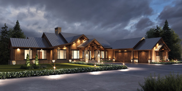 Private Residence || Mountain Modern || Bearspaw