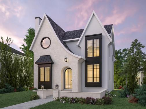 Luxury Spec Home || Modern Farmhouse Home Design