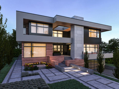 Elbow Park Modern Home Design | Luxury Home