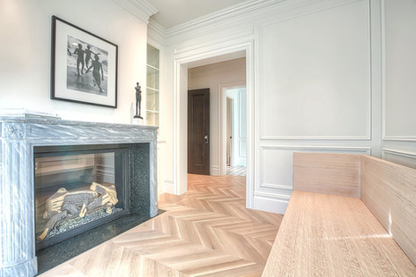 Imported luxury Italian fireplace