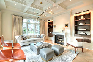Vancouver Luxury Home Living Room