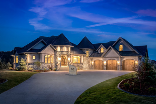 Private Residence     Bearspaw Estates Watermark New Show Home