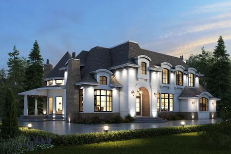 Private Residence || Acreage European Home Design