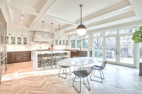 Mount Royal luxury home design kitchen