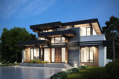Private Residence    West Coast Modern Home Design     North Burnaby